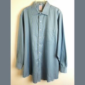 Brooks Brothers Non Iron Button Down Shirt 17 1/2
